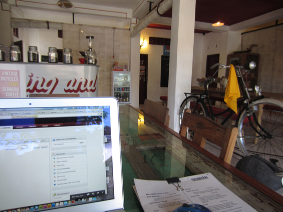 The many offices of Ubud, Bali