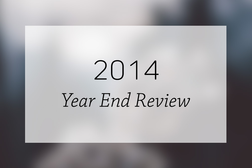 2014 Year End Annual Review