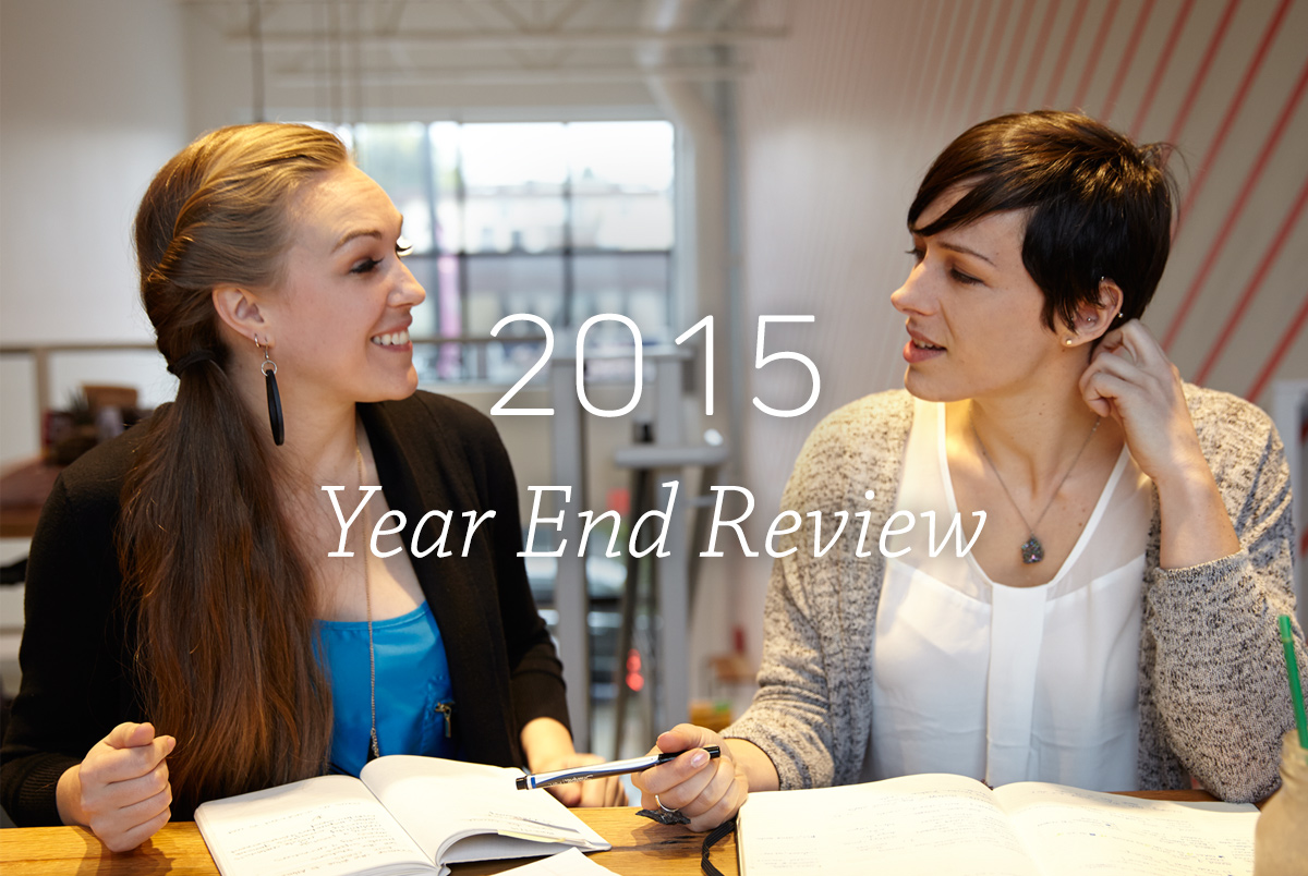 2015 Year End Annual Review