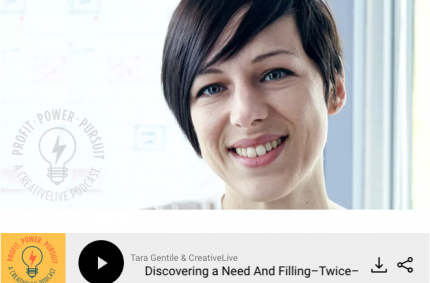 Discovering a Need And Filling–Twice: Podcast Interview on Tara Gentile's Profit Power Pursuit